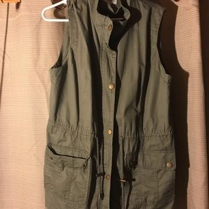 Army Green Vest Size L